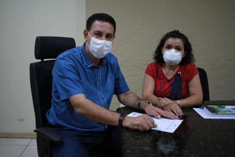 SINSEZMAT emite nota de agradecimento ao prefeito de Rolim de Moura Aldo Júlio