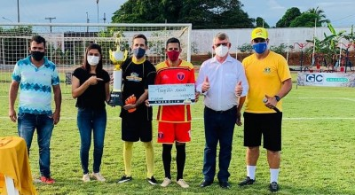 AMEROLIM encerra torneio de pênaltis em Rolim de Moura