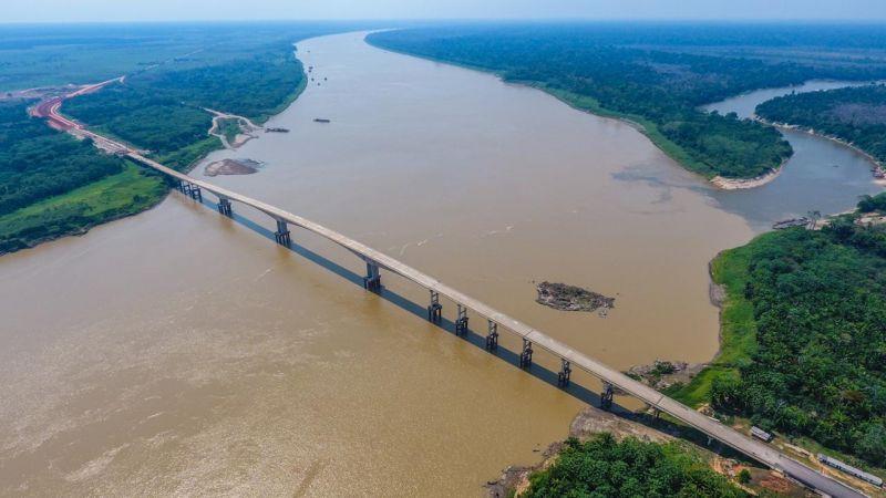 Ponte do Abunã: Ação parlamentar de Luiz Cláudio  garantiu 107 milhões para a obra da construção