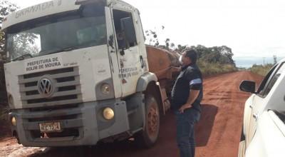 Atendendo pedido do vereador Eliomar Monteiro, secretaria de obras recupera linha 204