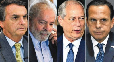 Bolsonaro, Lula, Ciro e Doria já avaliam perfis para vice em 2022