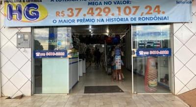 Dono de lotérica procura ganhador de R$ 37 milhões da Mega-Sena em RO e diz: 'Sortudo pode nem saber'