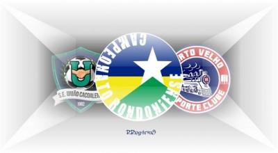 FFER marca para o dia 27 de maio o jogo de volta entre União Cacoalense e Porto Velho