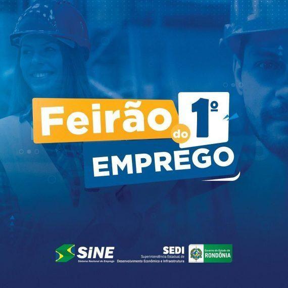 """Para contribuir com a geração de trabalho e renda, empresas de Rondônia podem se cadastrar no """"Feirão do 1º Emprego"""""""