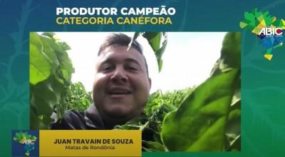 RO: Produtor de Cacoal vence em concurso nacional de qualidade do café