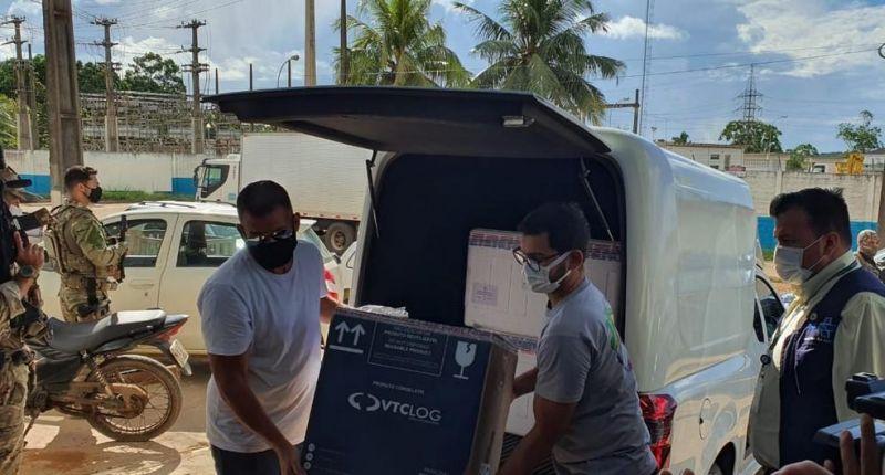 Rondônia recebe primeiro lote da vacina da Pfizer; São 3.510 doses