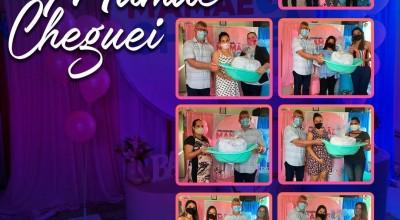 """CRAS entrega Kits do """"Programa Mamãe Cheguei"""" em Rolim de Moura"""
