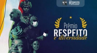 """Inscrições para Prêmio """"Respeito e Diversidade"""" se iniciam em 1º de julho"""