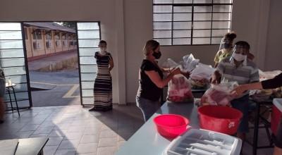 Mais de 8 mil estudantes das escolas estaduais da Zona da Mata são beneficiados com kits merenda escolar