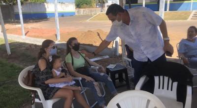 Mulheres de Militares em Rolim de Moura pedem ao prefeito Aldo Júlio para que interceda junto ao Governo do Estado por campanha salarial da categoria