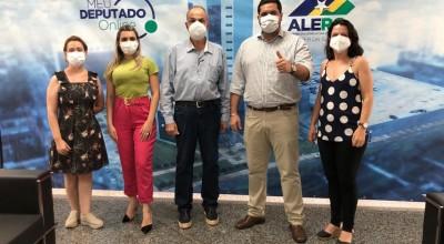 Obras de asfalto serão retomadas em Rolim de Moura e prefeito Aldo Júlio agradece deputado Jean de Oliveira