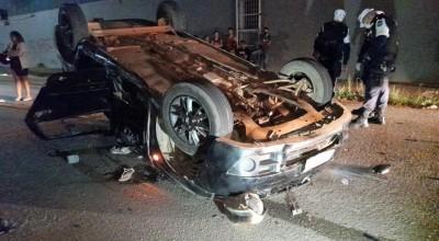 Passageiro morre em grave acidente na Capital