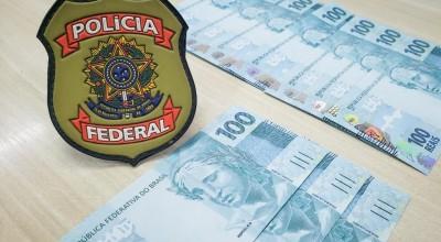 PF prende homem após receber R$ 1 mil em cédulas falsas