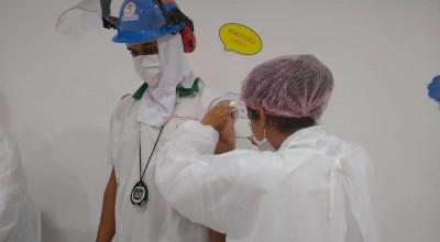 Rolim de Moura avança na vacina contra a covid e mais 500 trabalhadores da indústria foram vacinados nesta segunda-feira