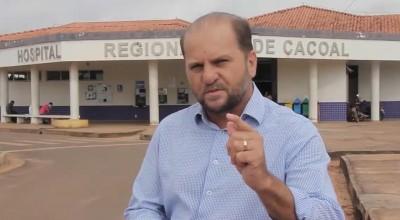 Secretário de saúde vai ter que apresentar soluções durante audiência pública, alerta deputado Cirone Deiró