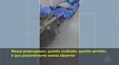 Superlotação, pacientes são retirados do chão do Hospital em RO