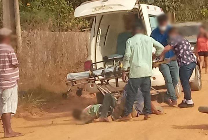 Homem morre e outro fica ferido em acidente, após passar sobre um quebra-molas