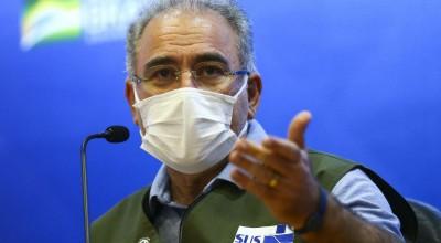 VACINA: Queiroga anuncia chegada de 3 milhões de doses