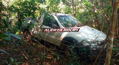 Veículo furtado da IDARON em Rolim de Moura acaba de ser recuperado pela Polícia Militar do 10º Batalhão