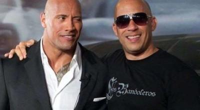 Vin Diesel confirma briga com The Rock