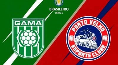 Porto Velho enfrenta no sábado o Gama-DF, no Estádio Mané Garrincha