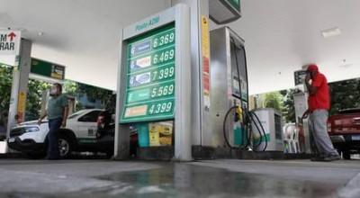 Preço da gasolina no Brasil está 12% abaixo do mercado externo
