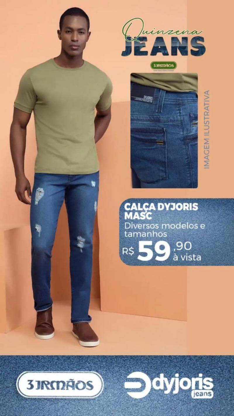 Tem quinzena do Jeans na 3 irmãos a partir desta quinta-feira