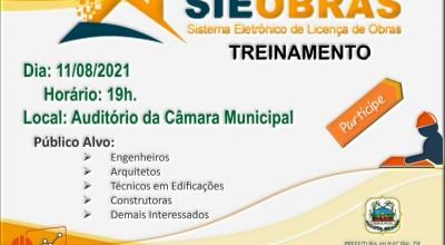 Tecnologia: Prefeitura de Rolim de Moura oferece treinamento do Sistema Eletrônico de Obras para profissionais da construção civil
