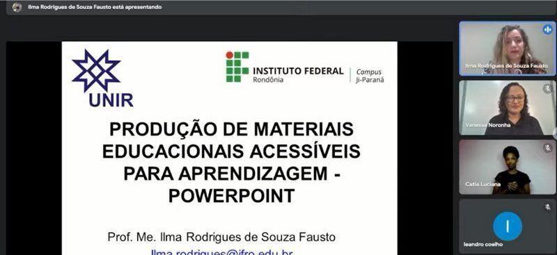 Atividade da Prefeitura de Rolim de Moura tem participação de representante do Campus Ji-Paraná