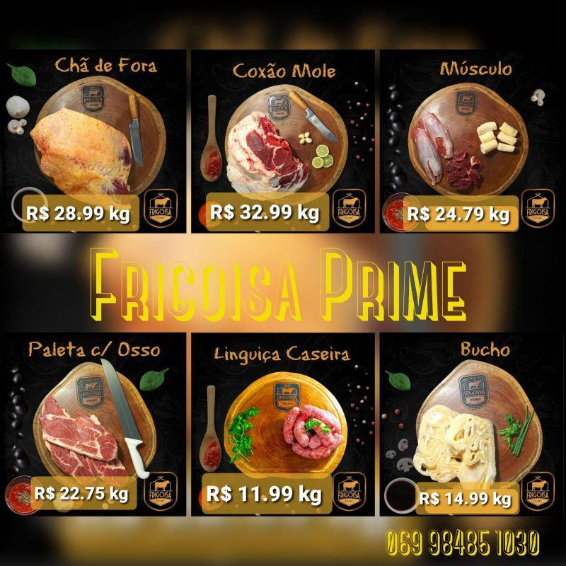 Confira as ofertas prime do Atacarejo da Carne Frigoisa para começar bem a semana