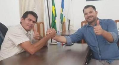 Diretor geral do DER visita Claudinho da Cascalheira e firma compromissos com Rolim de Moura