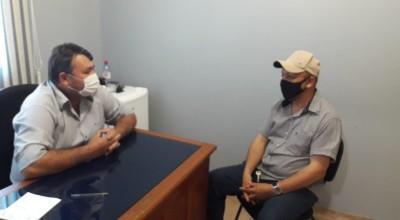 Eliomar Monteiro se reúne com secretário de agricultura de Rolim de Moura e pede por Nova Estrela