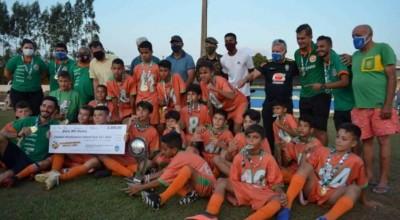 Guaporé supera o Avaí Rondônia conquista o Campeonato Rondoniense Sub-13