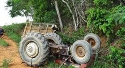 Jovem morre após acidente com trator na zona Rural de alto Paraíso