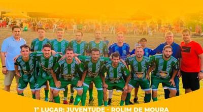 Mais de 24 equipes participaram do 1º Torneio Rondo Esportes; Juventude da lh 196 é o campeão