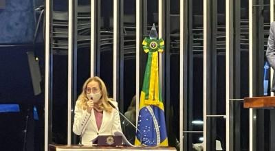 Maria Eliza é empossada senadora de Rondônia e destaca a educação como principal bandeira