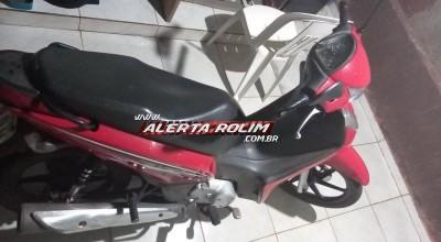 Moto roubada é encontrada por populares em Rolim de Moura