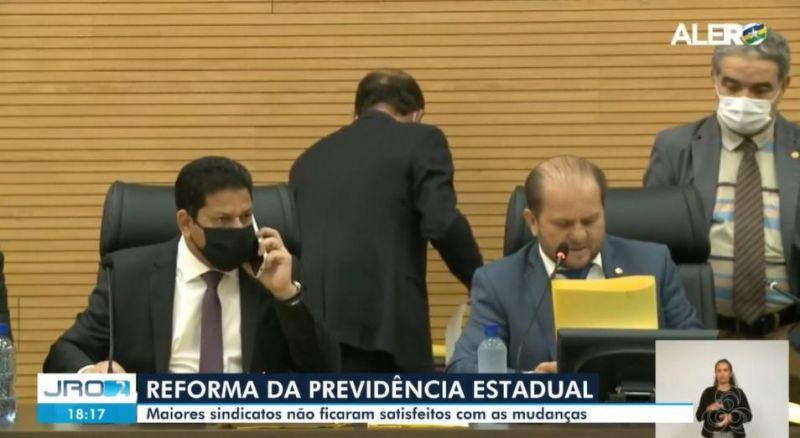 Sindicatos se manifestam sobre aprovação da reforma da previdência para servidores estaduais em RO