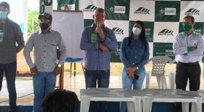 Vice-Prefeito de Rolim de Moura, Alcides Rosa participa de evento para agricultores sobre legislação do meio ambiente e atividades rurais