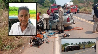 Vítima fatal de acidente na BR-364 estava indo para São Felipe d'Oeste visitar os filhos