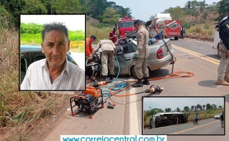 Vítima fatal de acidente na BR-364 estava indo para São Felipe d