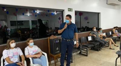 Sonelidade da Secretaria Municipal de Saúde contou com as presenças do Prefeito Aldo Júlio e seu vice Alcides Rosa