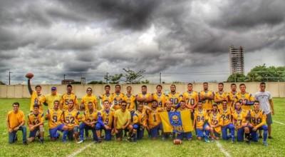 Conheça o Miners, time de futebol americano de Porto Velho