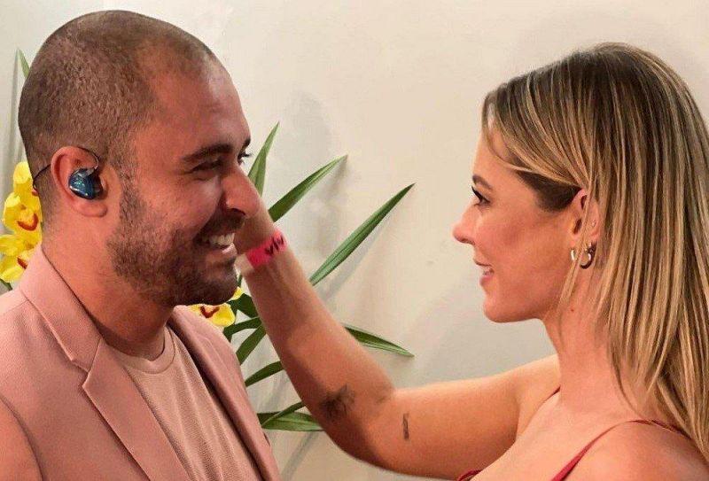 Diogo Nogueira anuncia parceria com Paolla Oliveira em gravação