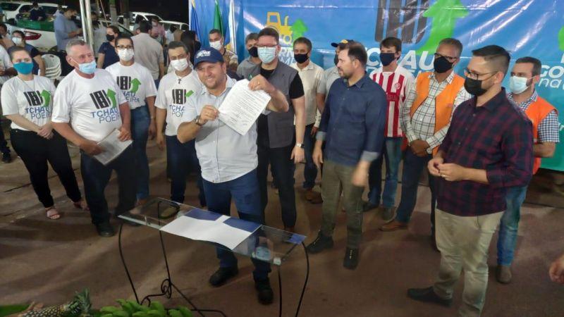 Espigão do Oeste: Construção da ponte sobre o Rio Ribeirão no distrito de Pacarana atende reivindicação de mais de 30 anos, diz Cirone Deiró