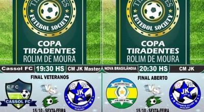 Final da Copa Tiradentes da PM do 10º Batalhão será nesta sexta-feira (15)