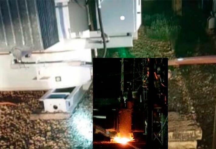 Jovem morre eletrocutado ao tentar furtar cabo de energia