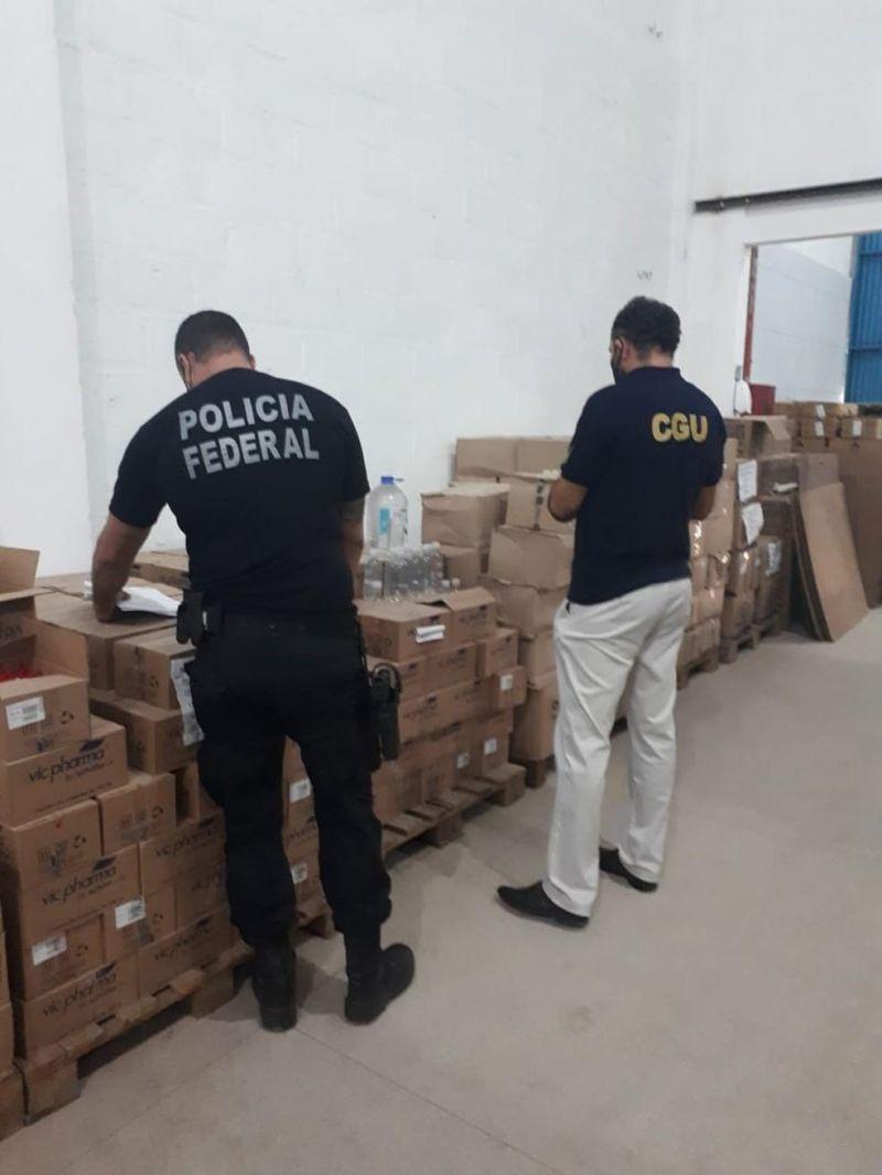 PF revela superfaturamento de 500% em máscaras vendidas à Sesau para ajudar no combate da pandemia em Rondônia