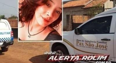 Polícia Civil faz ação para esclarecer morte de jovem encontrada morta em banheiro de obra em Rolim de Moura