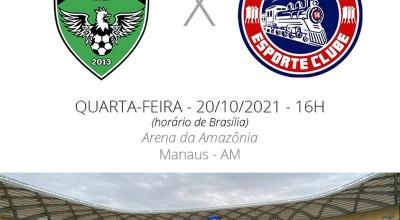 Porto Velho é derrotado pelo Manaus na Arena da Amazônia